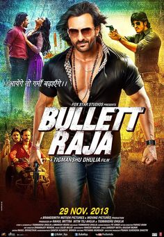 Bullett Raja is the story of a common man, Raja Mishra, who transforms into a dreaded gangster of the Hindi heartland written and directed by Tigmanshu Dhulia.