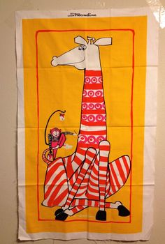 Vintage Scuda Bob Van Allen Scuda Fabric Wall Hanging Mid Century Modern | eBay