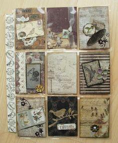 Utes kreative Seite: Pocket Letter No. 21 - Vintage Vögel