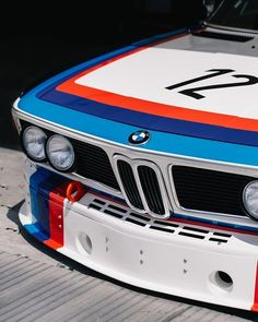 BMW 3.0 CSL Vintage Racing, Vintage Cars, Automobile, Bmw E9, Bmw Alpina, Bmw Classic, Automotive Photography, Car Photos, Hot Cars