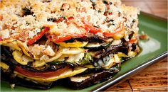 Mark Bittman's grilled layered vegetable torte. Photo: Evan Sung for The New York Times
