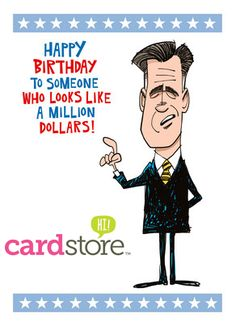 50% off Political Birthday Cards at Cardstore!