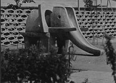 Rutschelfant aus Fertigteilen 1965
