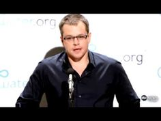 Matt Damon goes on TOILET strike for clean water   In a YouTube video of a mock press conference, the Oscar-winning actor and philanthropist jokingly announced that he will refrain from going to the bathroom to raise awareness of the 780 million people worldwide who lack access to clean water and the 2.5 billion who are without a toilet or basic sanitation.