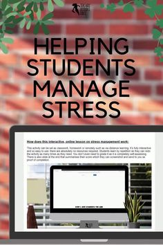 Stress management has always been an important tool for our students, however during the current climate of learning through a pandemic, stress has taken on a whole other level and is more important than ever to be able to manage. If you're looking for ways to help teach stress management during these challenging times, then keep reading. Free Teaching Resources, Help Teaching, Teacher Resources, Teaching Ideas, Behaviour Management, Stress Management, Teacher Blogs, New Teachers, High School Classroom