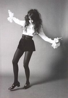 Miss Sparky (Linda Sue Parker) of the GTOs, late 60s.