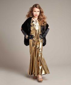 Love this Gold Movie Star Dress-Up Set - Girls on #zulily! #zulilyfinds