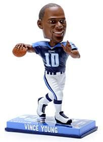 Tennessee Titans Vince Young Forever Collectibles Photo Base Bobblehead