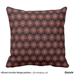 Discover pillows to accent your home. Browse our wide-range of designs on decorative & throw pillows and cushions or create your own pillows today! Compact Mirror, Custom Art, Decorative Throw Pillows, Pattern Design, Vibrant, Cushions, Style, Throw Pillows, Swag