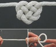How to Tie A Celtic Heart Knot heart diy knots diy ideas how to video knot… Looking to tie a perfect heart knot? We have a video and image tutorial that will show you just how easy it is to tie a celtic heart knot. Today Pictures, Morning Pictures, Thursday Pictures, Prayer Pictures, Heaven Pictures, Quote Pictures, Night Pictures, Gif Pictures, Friend Pictures