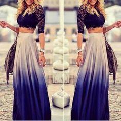 51957fffa9 High-end Fashion Dress HFFDJ. Cropped Plus SizeMaxi SkirtsLong SkirtsSummer  SkirtsCheap ...
