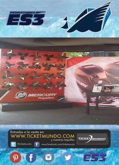 #1 en el agua en el  #SalónNáutico hasta el 22 de septiembre. Amantes de la potencia y poder de Mercury Marine a visitarlos!!