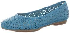 indigo by Clarks Women's Plush Bea Flat,Turquoise