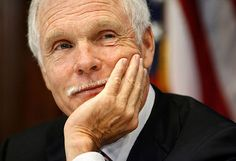 "Ted Turner founder of CNN; ""All my life, people have said that I wasn't going to make it."""