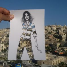Shamekh Bluwi art in Amman, Jordan.