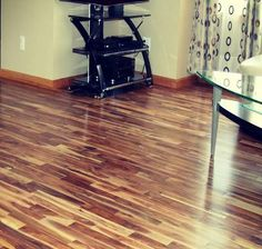 Acacia flooring is a fantastic choice for your home. It is durable, affordable and looks great. Acacia Wood Flooring, Hardwood Floors, Infographic, Kitchens, House, Flats, Wood, Wood Floor Tiles, Wood Flooring