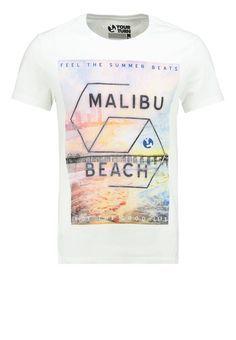 6b2ab1bcc24b YOUR TURN - Print T-shirt - white Boys T Shirts