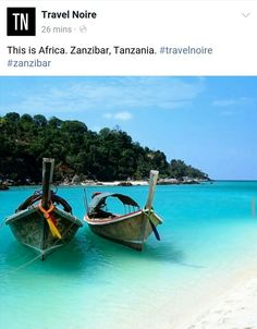 The Islands of Africa #beautiful #beach #tanzania #zanzibar