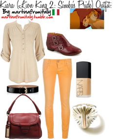 """""""Kiara (Lion King 2: Simba's Pride) Outfit:"""" by martinafromitaly ❤ liked on Polyvore"""