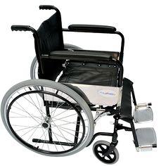La silla de ruedas economica Thunder III de 18″ Neumática tiene un acabado de acero esmaltado en color negro; su sistema es plegable; su cruceta sencilla brinda el soporte ideal para usarla por más de 18 horas seguidas; las sillas de ruedas economicas cuentan con un elegante asiento y respaldo tapizado en vinil o nylon antiflama (según su versión de modelo); sus descanzabrazos son rectos y fijos; sus descanzapies también son abatibles y desmontables con ajuste de altura.