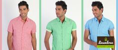Grab some solid #colour #shirts now, they are always in #fashion!  Shop now at : www.linenlove.in/