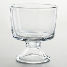 WorldMarket.com: Individual Trifle Bowls, Set of 4 for about $15.00. This is an awesome site for inexpensive party needs and things for the home.