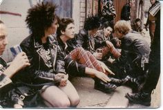 Trickle Up Punk on London Streets OutsideACentre(Crass)belfast by antrimpunk, via Flickr