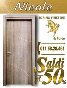 porte interne Tiziana torino | Porte Interne in Laminato con Inserti ...