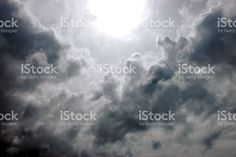 Eye of the Storm, Sunlight shines through Dark Ominous Clouds royalty-free stock photo Cloud Photos, Eye Of The Storm, Abstract Photos, Image Now, Looking Up, Sunlight, Royalty Free Stock Photos, Clouds, Sky
