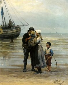 """The Farewell"" Philippe Lodowyck Jacob Sadee"