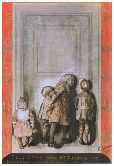 """""""The Day Before Christmas"""" by - Carl Larsson"""