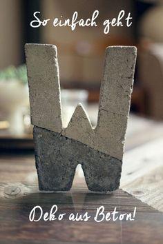 3 Anleitungen zum Nachbasteln findest du hier: http://www.gofeminin.de/wohnen/deko-aus-beton-selber-machen-s1528499.html
