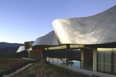 Take a Modern Escape to Chile's Wine Country at the Viña Vik Hotel - Design Milk Architecture Program, Modern Architecture, Patio Central, Modern Exterior, Wine Country, Marcel, Nice View, Facade, Gallery