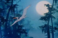 """""""Make Mine Music""""  -Blue Bayou featured animation originally intended for Fantasia using the Debussy musical composition Clair de Lune."""