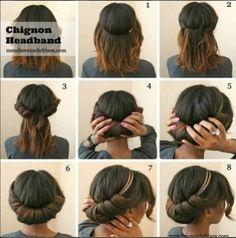 Shoulder length hair - Very nice!