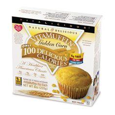 Golden Corn VitaMuffins (16 Muffins)*