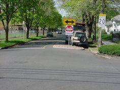 Two-Lane Choker   Traffic Calming   Pinterest   Choker