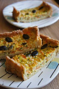 Vegetarian Day, Vegetarian Recipes, Tarte Vegan, Quiches, French Food, Tofu, Tapas, Nutrition, Veggies