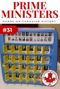 Hands-On Canadian History: Canadian Prime Ministers Guess Who Game Hands-On Canadian History: Prime Ministers of Canada Guess Who Game World History Lessons, History For Kids, History Quotes, History Projects, History Facts, History Posters, Social Studies Activities, Teaching Social Studies, History Classroom