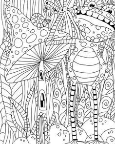 21 days of sheer colour therapy delight and it's all free! Free Coloring, Colouring, Adult Coloring, Fun Art, Cool Art, Colour Therapy, Baboon, Crafty Kids, Weird And Wonderful