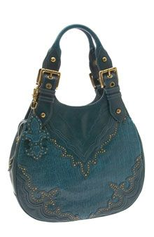Isabella Fiore Knight Rider   Britta Hobo Bag i actually own this bag it was given to me >_< a 700.00 purse