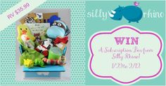 2/12  #Giveaway: Enter To #Win A Silly Rhino Gift Box - Jenn's Blah Blah Blog - Travel, Recipes, Tech Talk, Giveaways and Sweepstakes, Product Rev...
