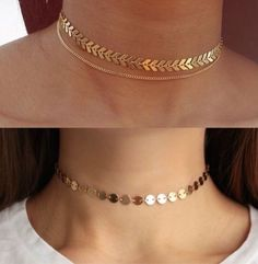 Women Fashion Necklace Gold Chain Design For Women Valentines Day Neck – clotheoo Source Stylish Jewelry, Dainty Jewelry, Cute Jewelry, Jewelry Accessories, Fashion Accessories, Jewelry Necklaces, Jewelry Design, Women Jewelry, Cheap Jewelry
