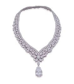 A COLOURLESS DIAMOND NECKLACE l Christie's Jewellery Private Sales China Tour. March 23 and 24th from 10:30am to 8:30pm. Click for more information.