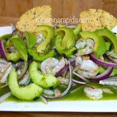 Mi Cocina Rápida: Aguachiles De Camarón