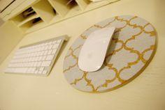 cork trivet mouse pad DIY