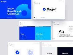 Brand Guidelines Design, Logo Guidelines, Brand Identity Design, Branding Design, Logo Design, Graphic Design, Bagel Brands, Brand Manual, Web Design