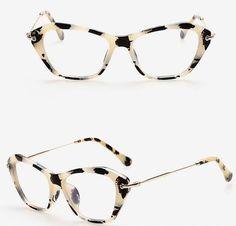 bbb43ac7230 JIE.B Italy Design Glasses Cat Eye Optical Frames Women Clear Lens