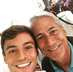 Tom Daley, Greg Louganis Pose for Historic Selfie at Rio Olympics
