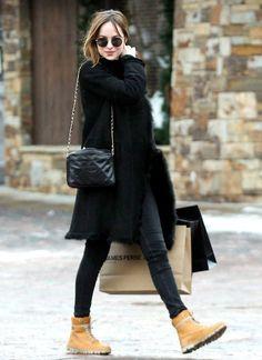 Dakota looks absolutely amazing out shopping in Aspen!! #DakotaJohnson